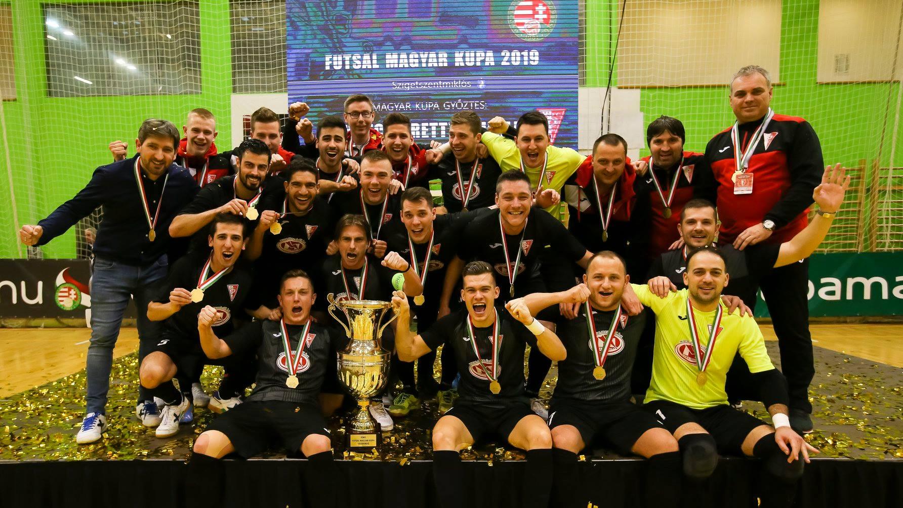 Az MVFC nyerte a futsal Magyar Kupát