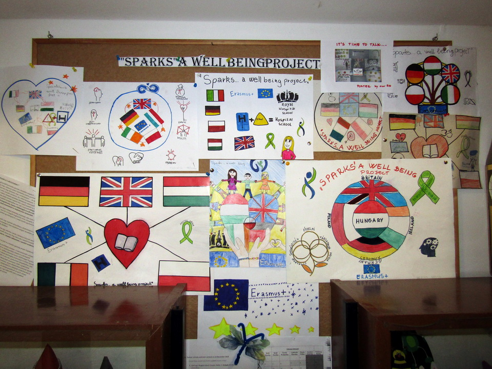 erasmus3project wall